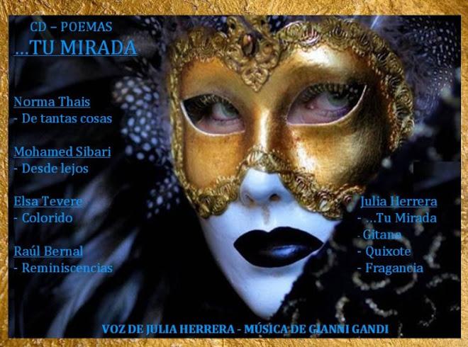 "CD Poemas ""...Tu Mirada"""