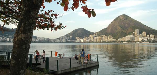 Piquenique no Rio de Janeiro Lagoa Rodrigo de Freitas