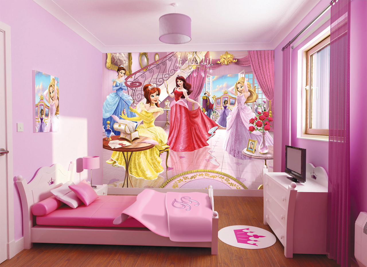 Blog cik miela bilik tidur warna pink for Girl themed bedroom ideas