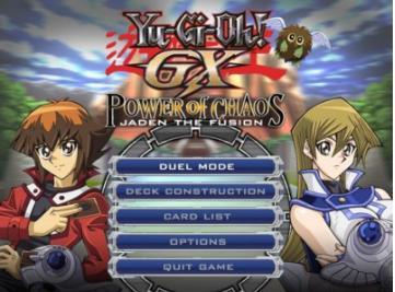 Yu-Gi-Oh! GX - Power of Chaos Mod PC game 2012