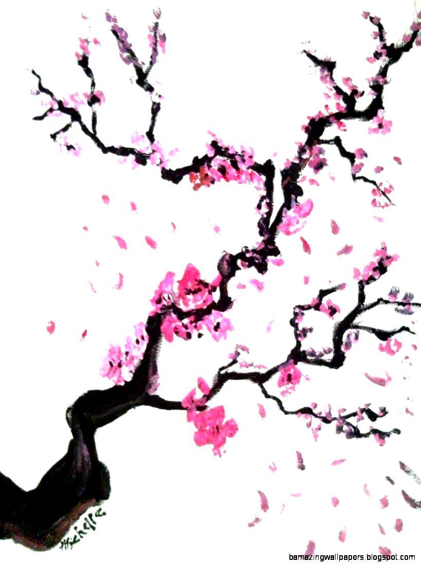 Cherry Wallpaper  Cherry Blossom Tree Branch Clip Art HdKuewut