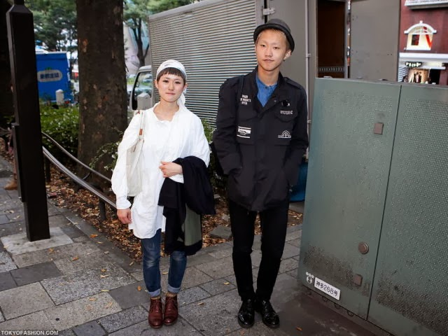 The Street Fashion in Japan