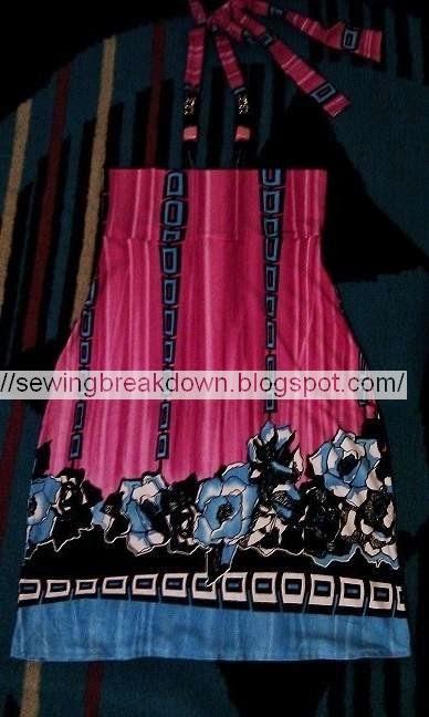 خطوات خياطة فستان صيفي