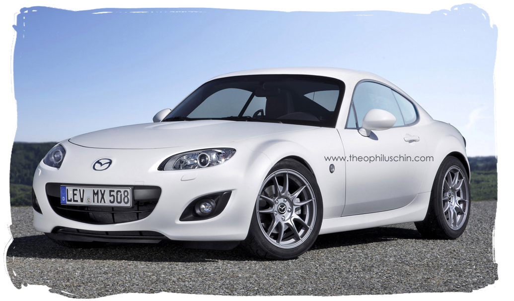 Roadster.Blog: MX-5 Roadster NC Fixed Coupe