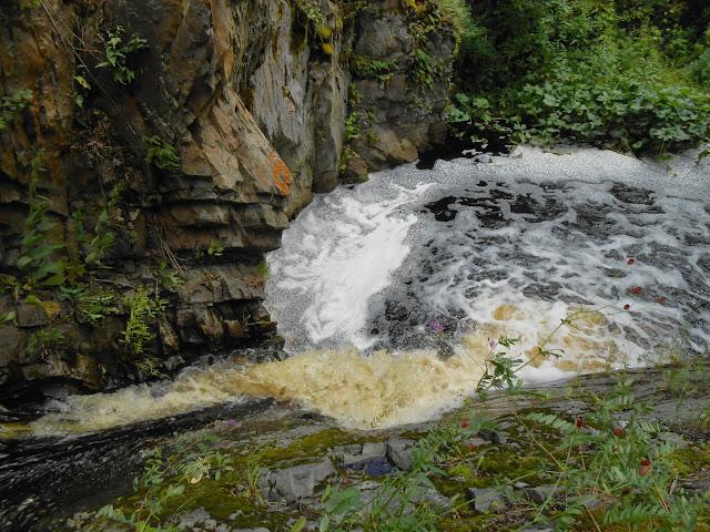 Ольгин водопад вид сверху