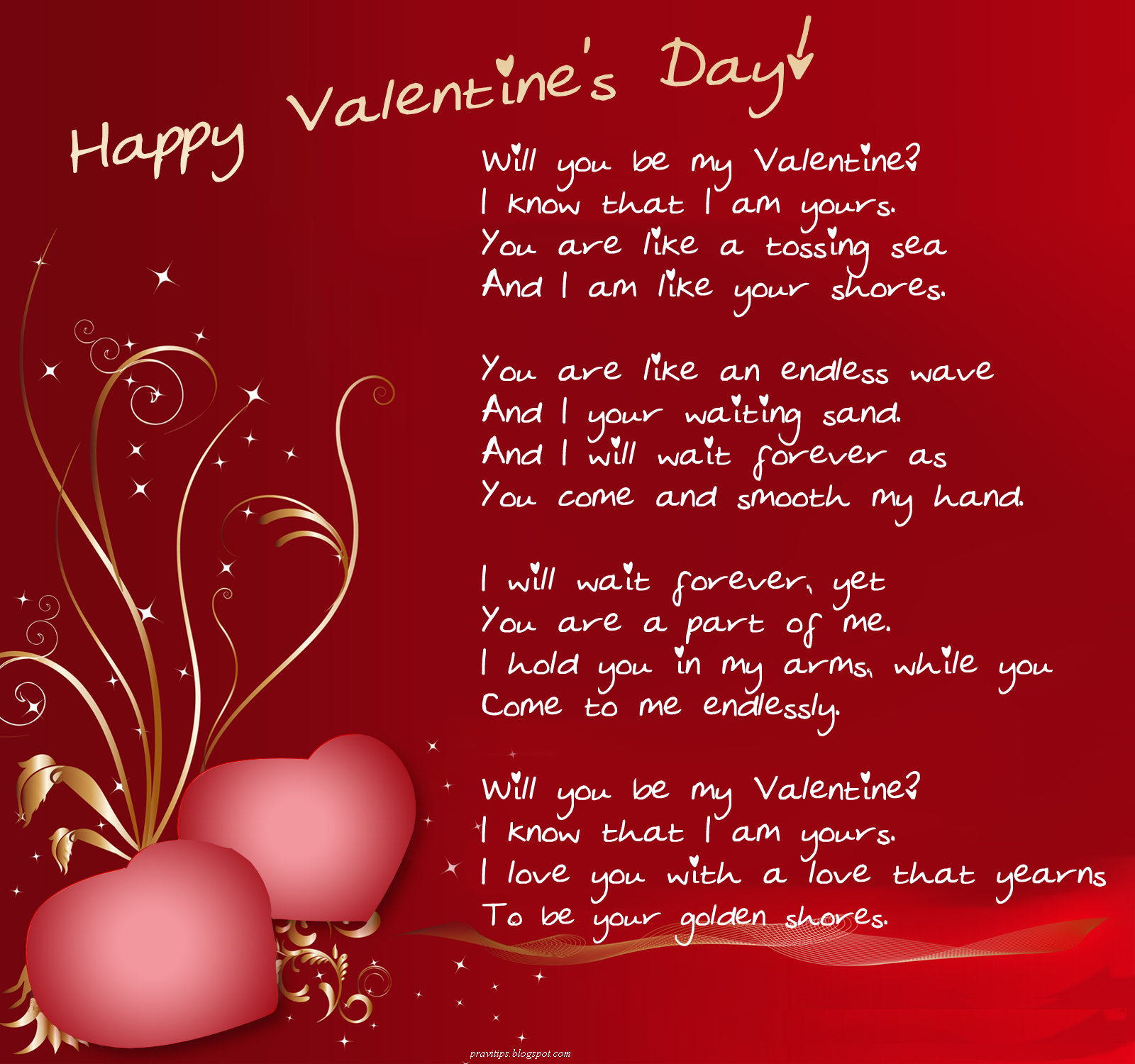All in one blog for u for Love quotes for card