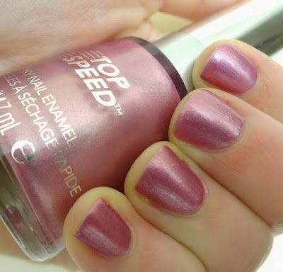 Revlon Top Speed Orchid nail polish, aka Bailey