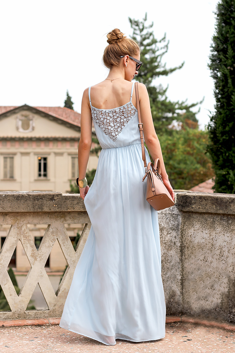 Light Blue Maxi Dresses
