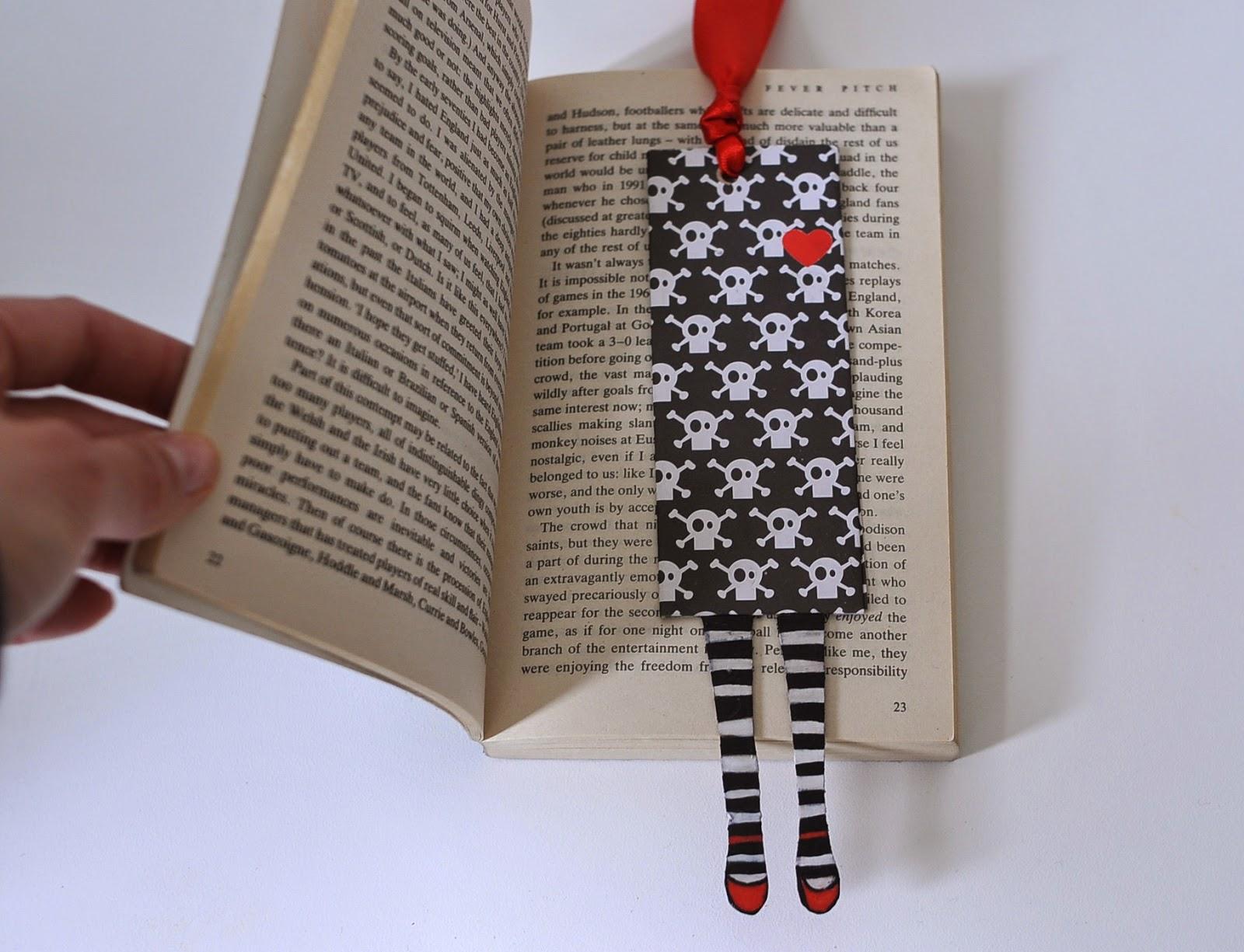 Preferenza HANDMADE BOOKMARK - SEGNALIBRO FATTO A MANO | Stefania Bergna  RT81