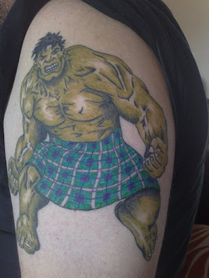 Hulk Tattoo Designs Picture Gallery - Superhero Hulk Tattoo Ideas