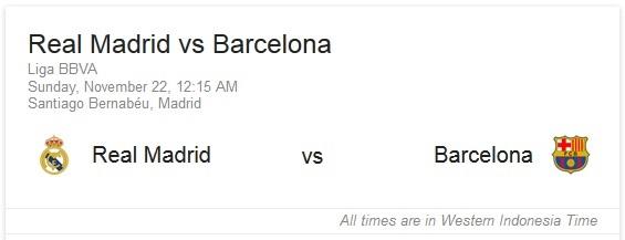 el clasico liga bbva real madrid vs barcelona