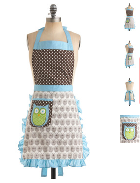 The Ultimate Fun Foodie-Friendly Gift List - Owl apron