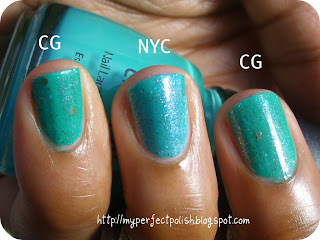 China Glaze New York Color NerdLacquer