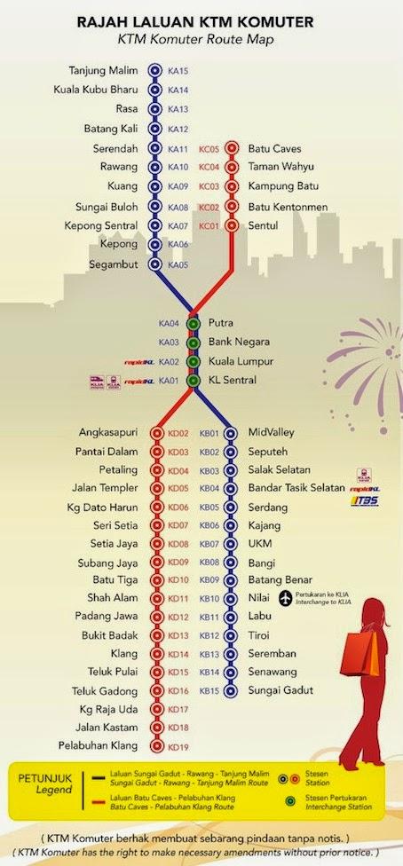 Ktm Route Map