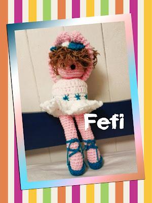 crochet, tejido, muñecas, fefi, amigurumi