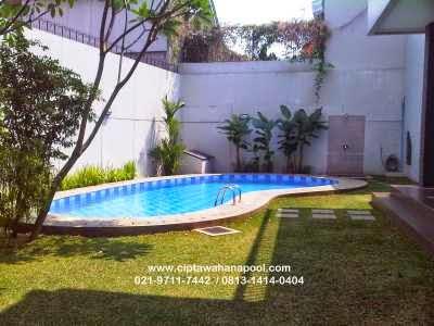 portofolio desain kolam renang