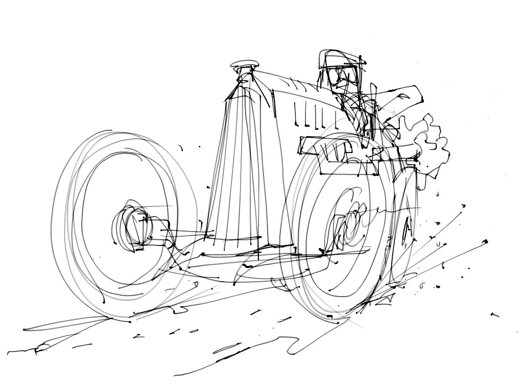 stefan\'s sketch blog: New App and quick car doodle/paint