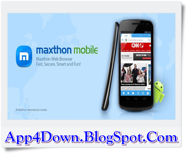 Maxthon Browser 4.5.0.2000 For Android APK Latest