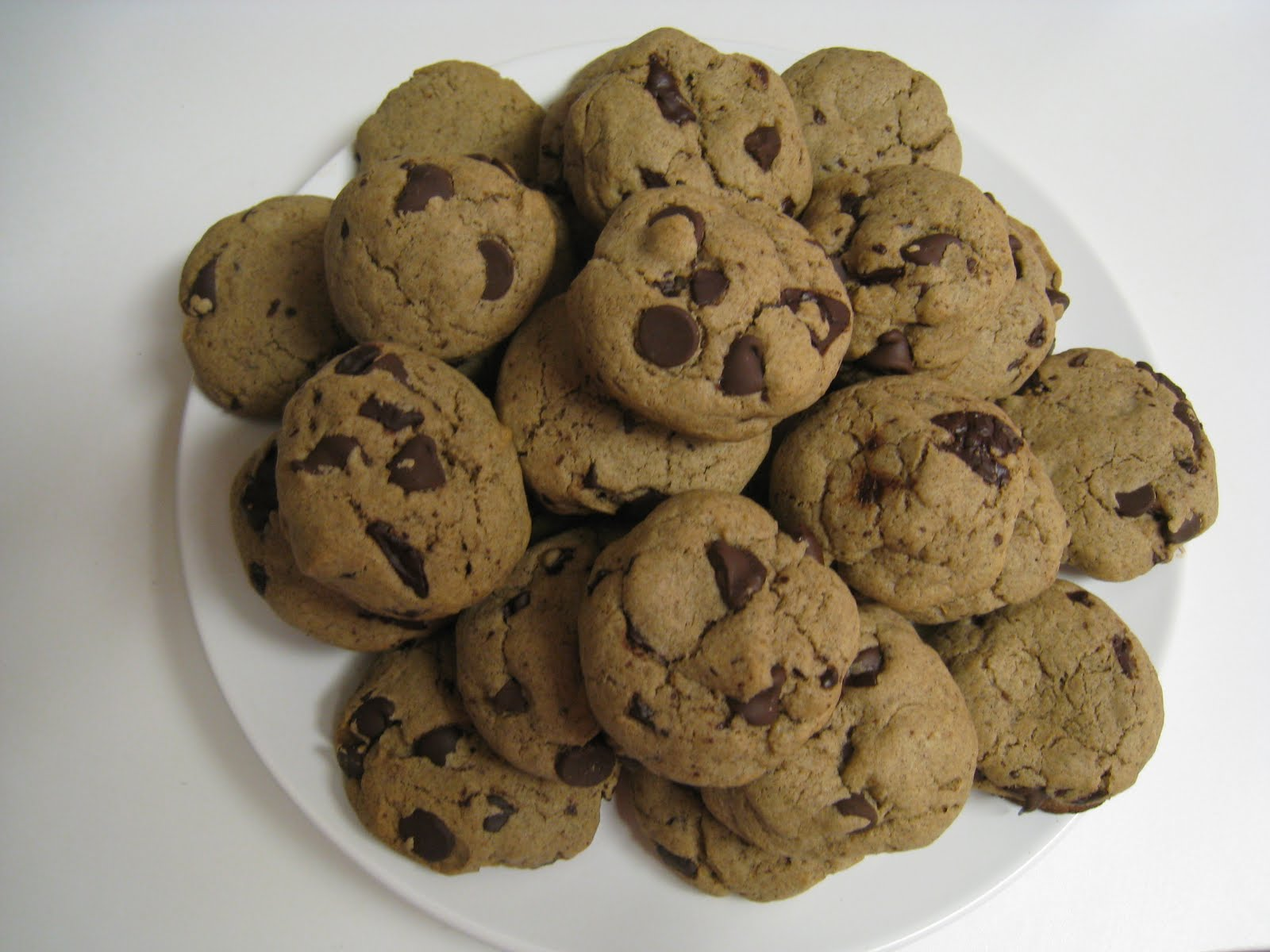 Scrapbook: Buckwheat chocolate chip cookies