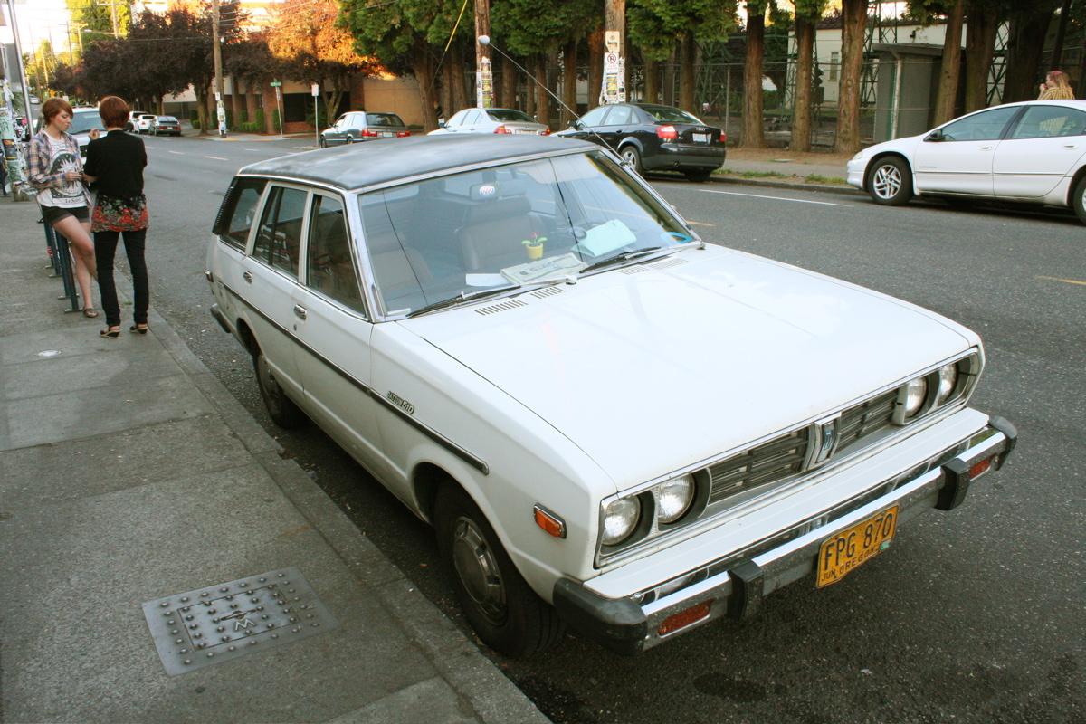 1978 Datsun 510 Wagon.