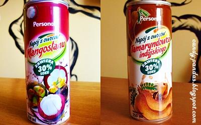 Napój z owoców mangostanu i tamaryndowca - Personal