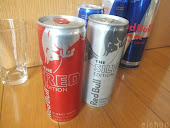 RED BULL - RED,SILVER