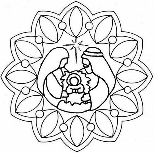 La Catequesis (El blog de Sandra): Mandalas de Adviento y ...