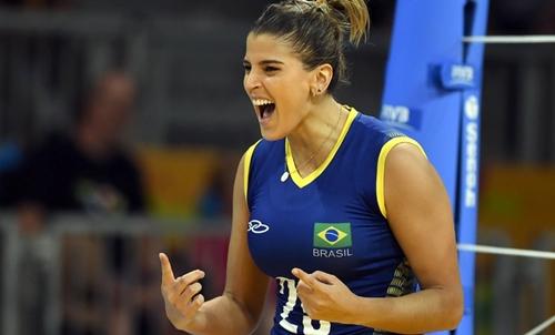 Brasil bate seleção peruana com set mais rápido nos Jogos Pan-Americanos