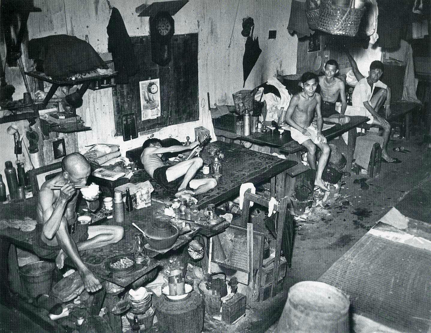 Opium Den, Singapore, 1941