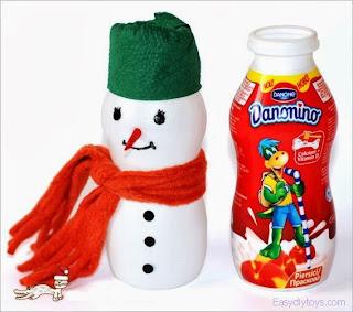 DIY christmas snowman
