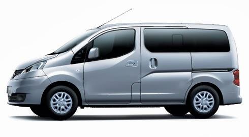 Gambar Nissan Evalia Silver Metallic