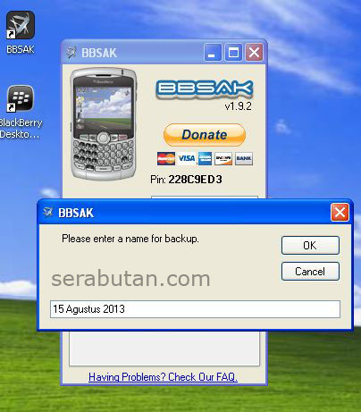 Cara Upgrade Blackberry 8520