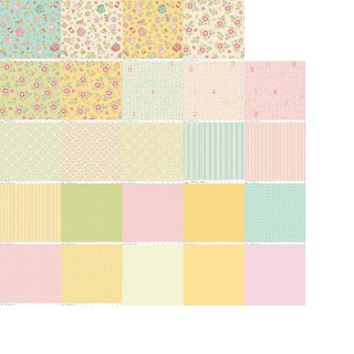 Riley Blake Designs VINTAGE BABY Quilt Fabric by Lori Whitlock