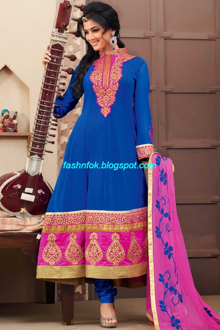 2013 Style Designs India Pakistan New Umbrella Frocks 2013 ...