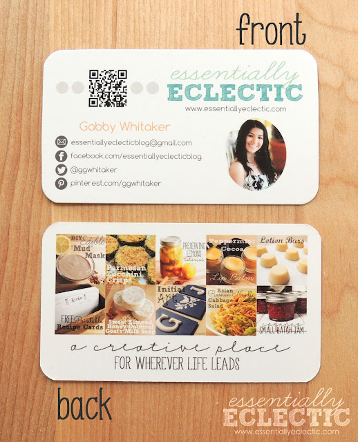 If you're thinking of turning your blog into a business, you'll need blog business cards. Here is how to make your own using Photoshop Elements! | Tips for new bloggers | Blogging tips | Mompreneur | WAHM | Mom Makes Joy