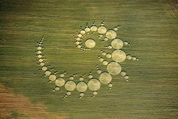 mistério, ets, ufo, círculo, circulo, plantação, crop circles, plantações