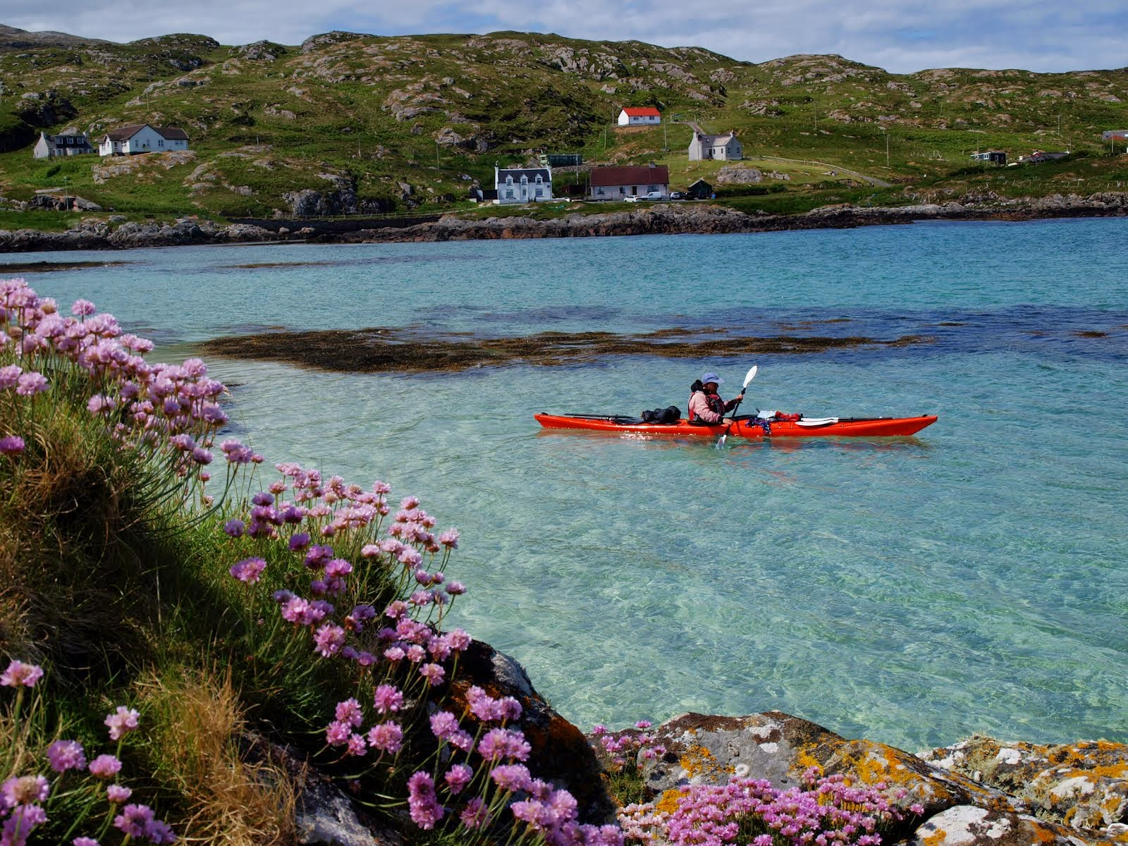Kayaking in the Outer Hebrides
