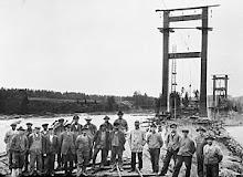 Gamle Bingsfoss bru - 1916