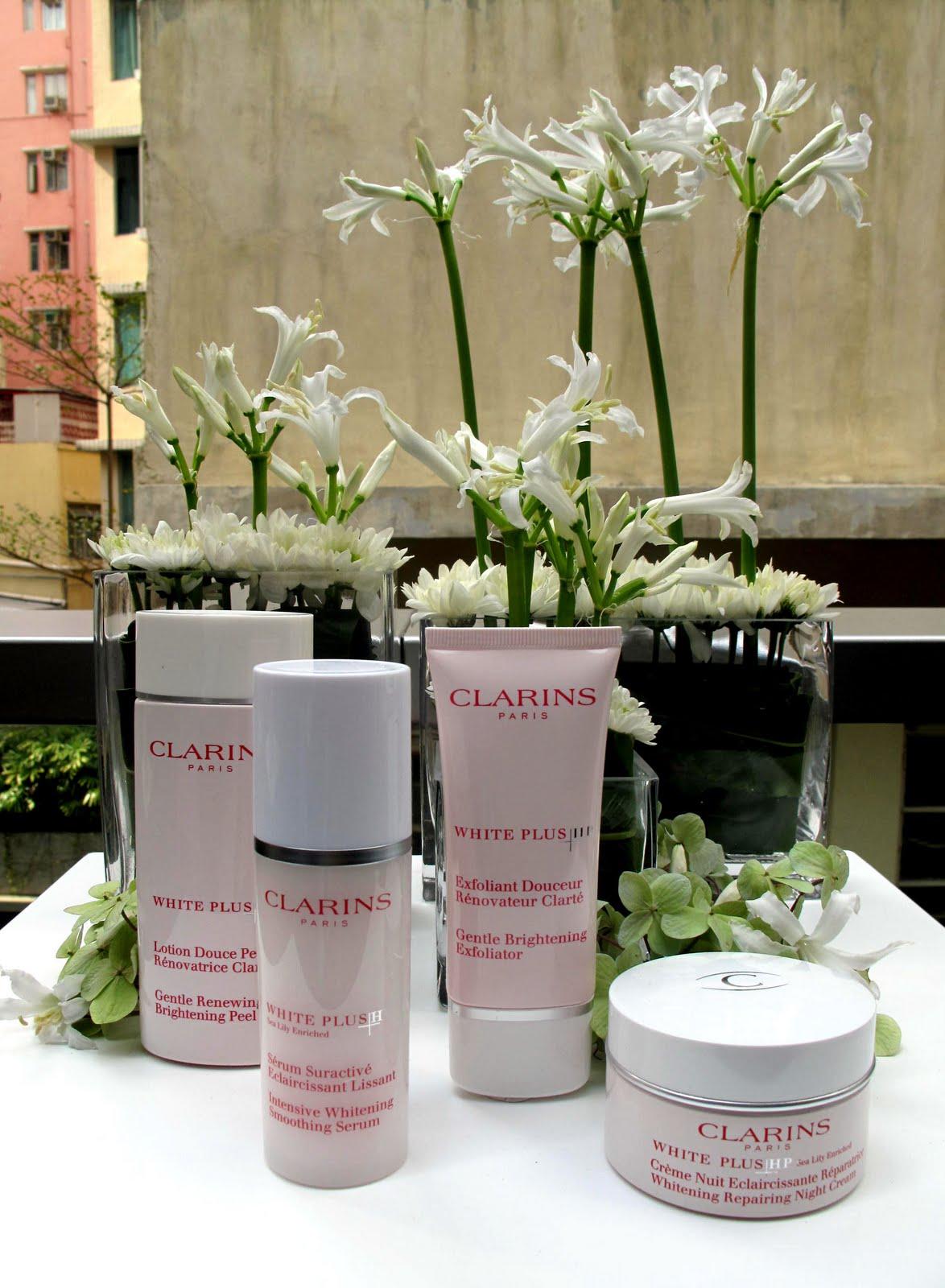 clarins whitening 美白 skincare 廚魔 分子料理 bo innovation