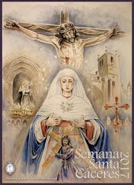 Cartel Semana Santa 2017 dedicado a la Cofradía de las Batallas