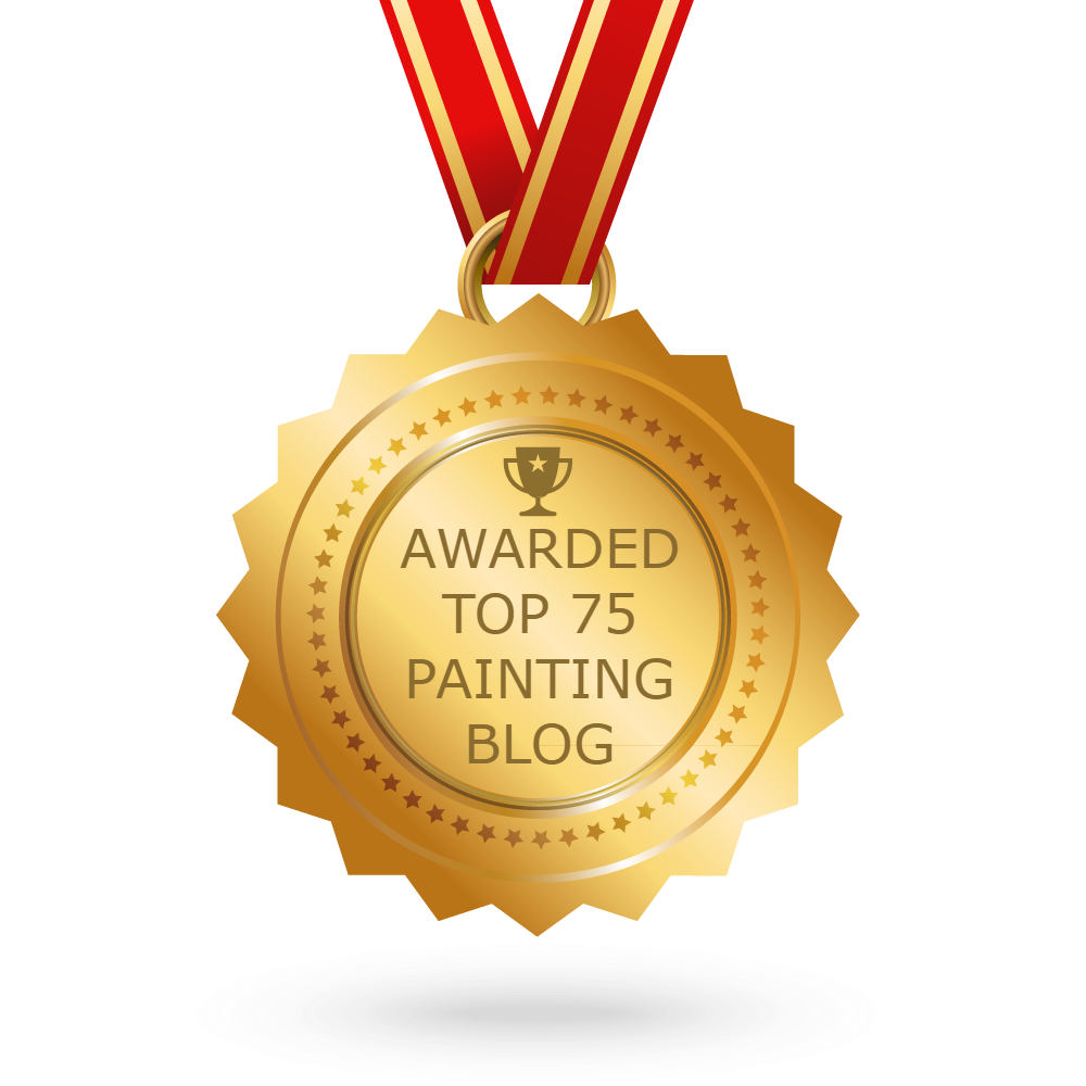 I'm excited to have been listed as one of Feedspots TOP 75 painting blogs!