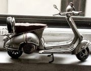 my dad had a Vespa like this