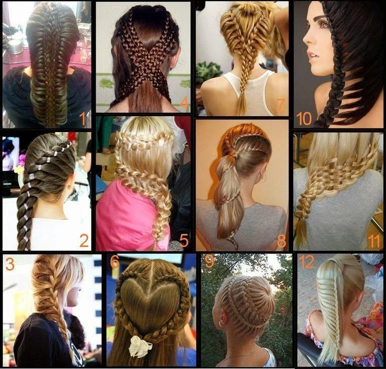 2014 Örgülü Saç Modelleri