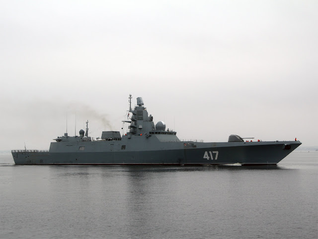 Pproject 22350 frigate ''RFS Admiral Gorshkov''