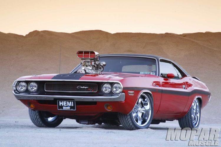 Dodge Challenger Antigo V8 >> Carros Antigos