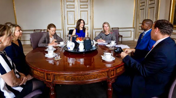 Princess Mary Met With Representatives Of The Mary Foundation