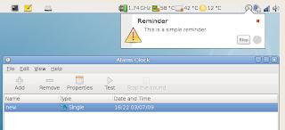 Alarm Clocks & A Clock Applet for Ubuntu Linux