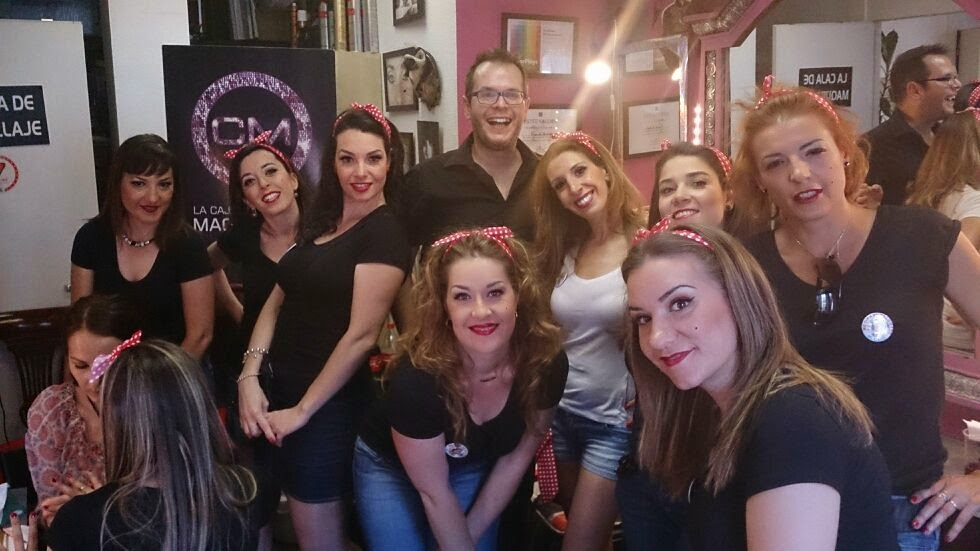 Beauty party Madrid por la caja de Maquillaje