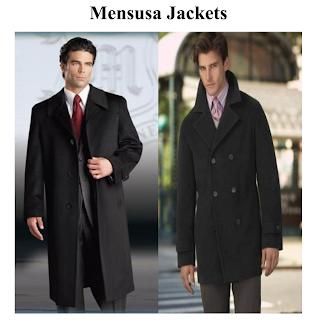 Mensusa Jackets