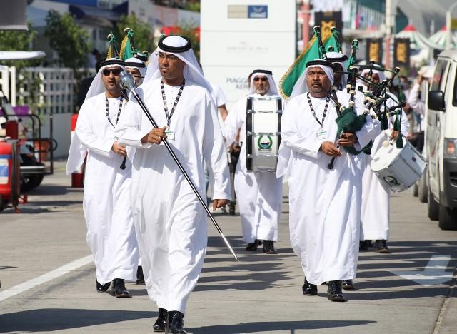 Polisi Di Dubai Memiliki Drumband